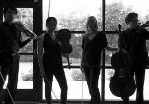 Taos School of Music chamber quartet