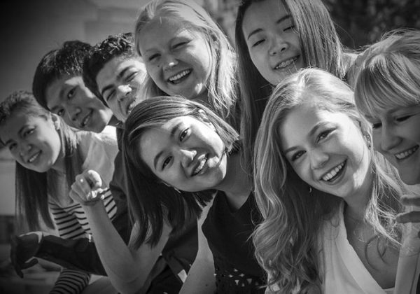 Students smiling at Taos School of Music